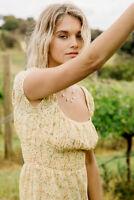 BARDOT   Womens Elisa Mini Dress in Garden Print [ Size AU 12 or US 8 ]