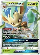 Leafeon GX 13/156 Sun & Moon Ultra Prism ULTRA RARE HOLO PERFECT MINT! Pokemon