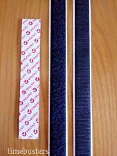 Velcro ® 1m e 1m Hook Loop Bastone Su Nastro/Striscia 20mm ELEMENTO DI FISSAGGIO AUTOADESIVO PS14