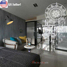 36.6'' Large Handmade Wall Hanging Decorations Dream Catcher with White Feathers