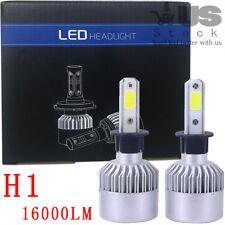 2pcs H1 Cree LED Headlight Light Bulbs Lamp White Beam kit 72W 16000LM 6500K US