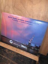 Bath Iron Works BIW Bath Maine, Calendar 1996.
