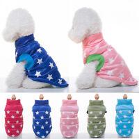 Haustier Hund Kleidung Pullover Welpen Chihuahua Weste Jacke Coat Wintermantel