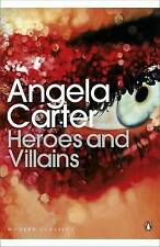 Heroes and Villains by Angela Carter (Paperback) New Book
