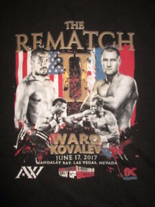 SERGEY WARD vs ANDRE KOVALEV June 17  2017 The Rematch Mandalay Bay (XL) T-Shirt