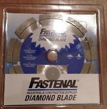 "Fasten 4""  Diamond Tuck Point Blade Wet Dry"