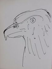 Pablo Picasso Lithograph Tete d' Aigle / Eagle Head First Edition Limited 1957