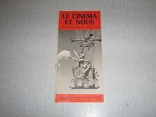 LE CINEMA ET NOUS 113 (23/12/60) LE VOYAGE EN BALLON