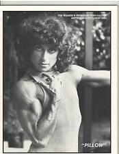 WOMEN'S PHYSIQUE PUBLICATION female bodybuilding magazine/Pillow/Gladys 10-83