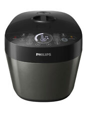 NEW Philips Deluxe All-In-One Cooker: Metal Black HD2145/72