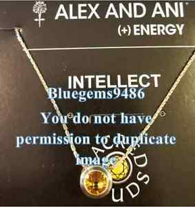 Alex and Ani Sacred Stud Sunflower Intellect Necklace Gold Plated - Rare