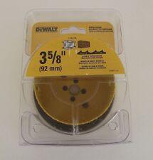 """New Dewalt D180058 Bi- Metal Holesaw 3 5/8"""" Double Tooth Design"""