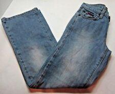 Vintage Child's Tommy Hilfiger Light Wash Jeans Size 10 Uav-Uav