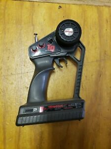 TRAXXAS TQ 2-CH 27mhz AM TRANSMITTER + Receiver RADIO REMOTE USED