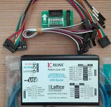 New 1.5-5.5V USB2.0 XILINX ALTERA LATTICE 3IN1 Download Cable CPLD/FPGA