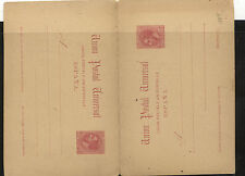 Spain  postal reply card  10 cent  unused        MS0202