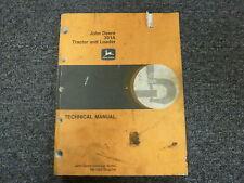 John Deere 301A Industrial Tractor & Loader Shop Service Repair Manual TM1088
