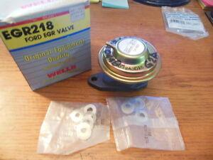 Wells EGR218 EGR Valve For Some 80's Ford & Mercury Apps.