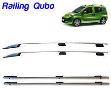 BARRE LONGITUDINALI CORRIMANO RAILING DA TETTO FIAT QUBO dal 2013 Alluminio