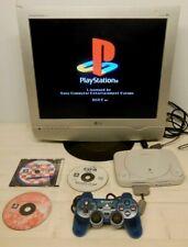 Console Playstation 1 One + Controller + Memory card + 3 Giochi  testata PsOne