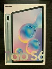 """Samsung Galaxy Tab S6 128GB Wi-Fi 10.5 in 10.5"""" Cloud Blue with S Pen - New"""