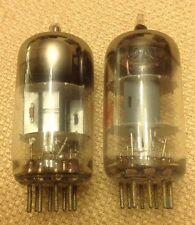 Pair of 12AT7 Vacuum Tubes Made in USA