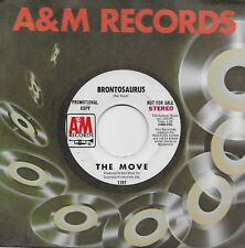 THE MOVE  Brontosaurus  rare promo 45 from 1970  ROY WOOD  JEFF LYNNE