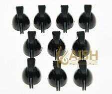 Set of 20 Black Guitar Mini Chicken Head Knobs Guitar AMP Effect Pedal Knob