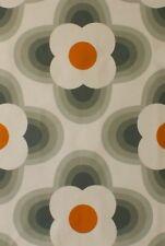 Designer Orla Kiely Striped Petal Orange Cotton Curtain Upholstery Craft Fabric