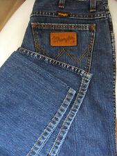 "Wrangler ~ blue denim low rise bootcut jeans ~ 27"" W X 30"" L"
