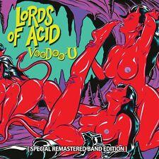 LORDS OF ACID - VOODOO-U (REMASTERED & BONUSTRACKS)   CD NEUF