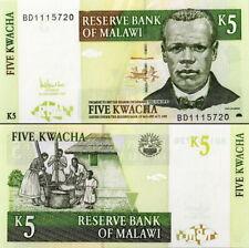 MALAWI - 5 kwacha 2005 FDS - UNC