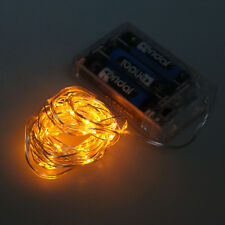50 LEDs Battery Operated Mini LED Copper Wire String Fairy Lights 5M / 6.6ft