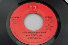 New Censation: First Roung Knockout / I Was Made for You   [Unplayed Copy]