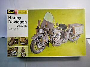 Revell H-2201 Harley Davidson Whale 45 Motorcycle Model Kit 1:9 (W7)