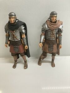"""2 Doctor Who ROMAN SOLDIER Rory Figures Variants 5"""" Dr"""