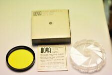 Hoya 49mm Yellow(K2) filter. New.