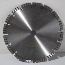 1x Diamanttrennscheibe Diamantscheibe 230mm Beton Turbo (S836-R50)