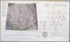 USGS APOLLO MARE SERENITATUS LUNAR GEOLOGIC MAP, Vintage 1966, I-489 Scarce