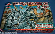 REDBOX 72047 European Mounted MEN AT ARMS-Wars Of The Roses. échelle 1:72