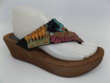 Azura By Spring Step Headress Wedge Sandal-Women's SZ 9.5 M, Brown Multi  15948