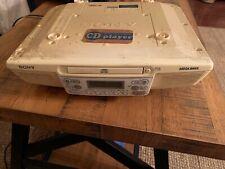 Sony ICF-CD533 Kitchen Clock Radio with CD Player