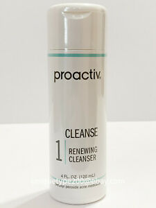 Proactiv 4oz Renewing Cleanser 60 day Proactive Cleanse Solution 04/2023 EXPIRY