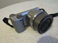 SONY NEX-5T MIRRORLESS WI-FI DIGITAL CAMERA w/16-50mm LENS w/Flash