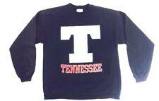 Vintage Tennessee Volunteers Sweatshirt 90s Blue Crew Neck Long Sleeve VOLS L