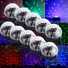 10X RGB Stage Light Party Club Disco DJ Lighting Crystal Magic Ball Effect party
