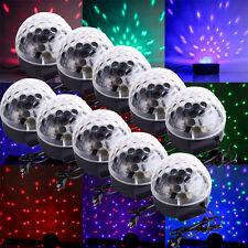 10X RGB Stage Light Party Club Disco DJ Lighting Crystal Magic Ball Effect party