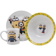 Minion Breakfast Set 3 Piece Ceramic