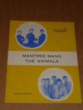 Manfred Man/Animals 1964 UK North Pier, Blackpool Programme (Stylos/Atlantics)
