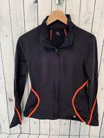 GAP FIT Women's Full Zip Athletic Jacket Navy Blue Pink Size Medium